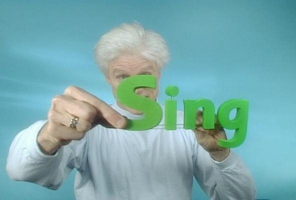 Fred Says: sing