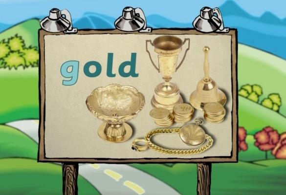 Word Morph: gold-goose-gourd