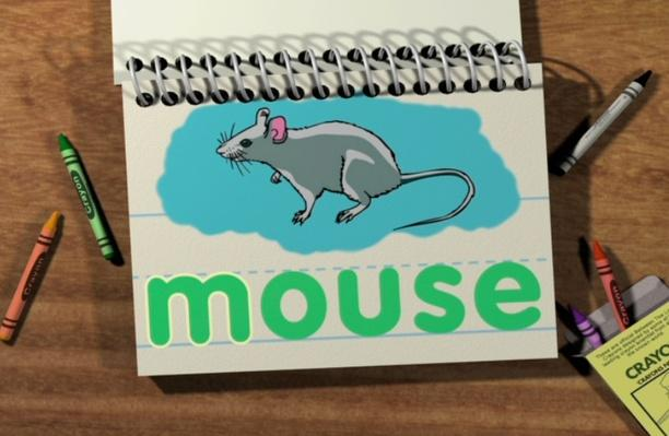 Word Morph: moon-mouse-mice