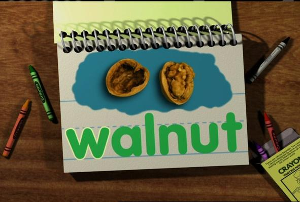 Word Morph: walnut-wave-wave