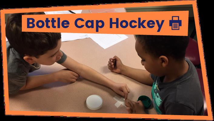 Bottle Cap Hockey - Activity | The Ruff Ruffman Show