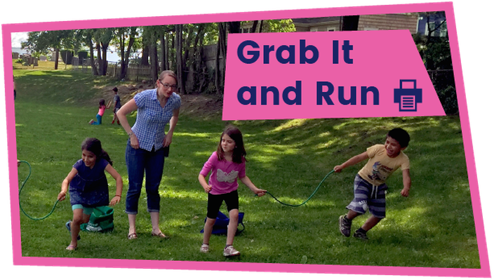 Grab It and Run - Activity | The Ruff Ruffman Show