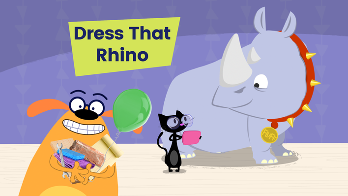 Dress That Rhino - Game | The Ruff Ruffman Show