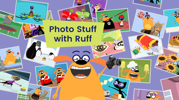 Photo Stuff with Ruff - App | The Ruff Ruffman Show