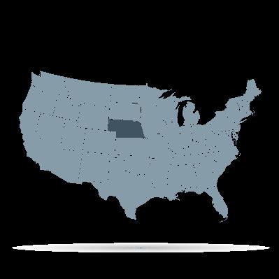 U.S. States - Nebraska | Clipart
