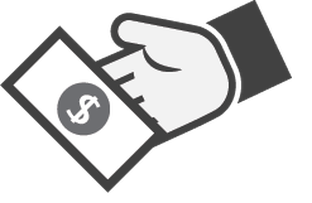 Hand with Money Icon - 1 | Clipart