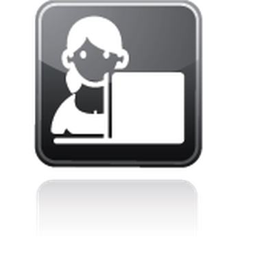 Professions - Receptionist | Clipart