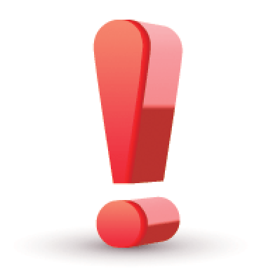 Red Exclamation Mark   Clipart
