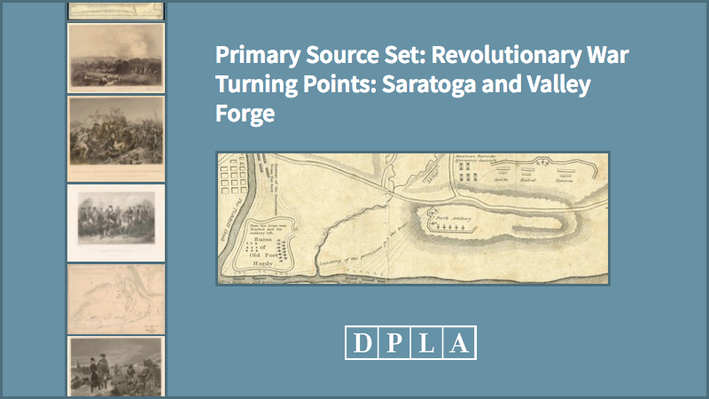 Revolutionary War Turning Points: Saratoga and Valley Forge