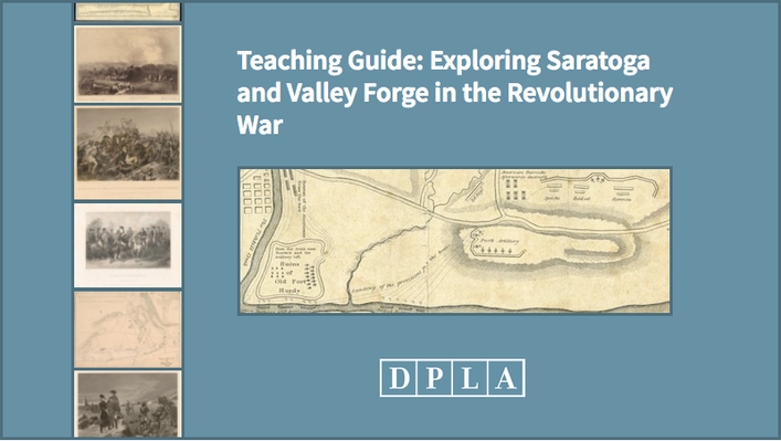Teaching Guide: Exploring Saratoga and Valley Forge in the Revolutionary War