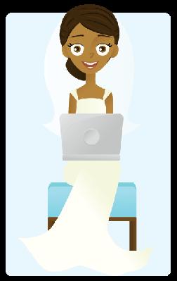Blogging Bride | Clipart