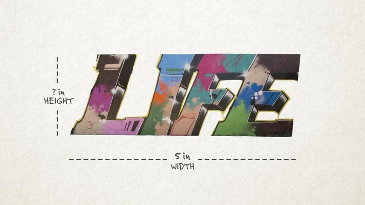 Graffiti Art: Scaling