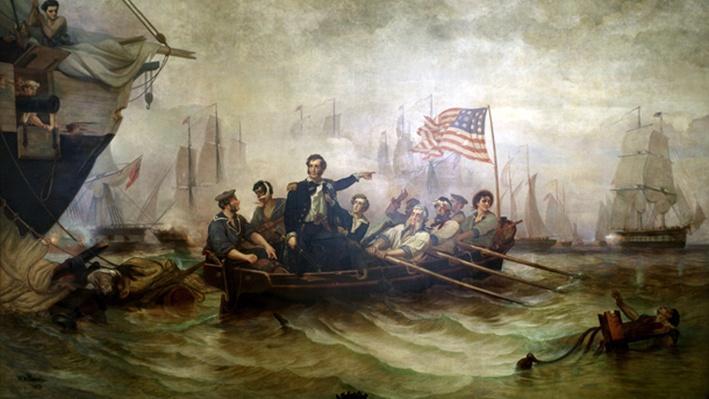Battle on Lake Erie Image
