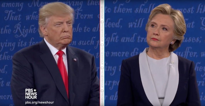 "Trump Responds to ""Locker Room Banter"" Comments at Second Debate Video"