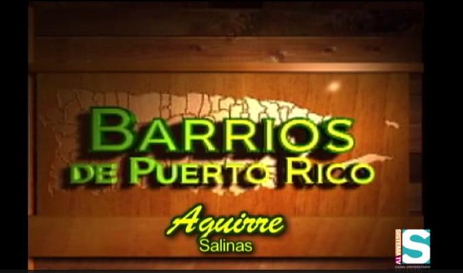 Barrios de Puerto Rico: Sector Aguirre, Salinas