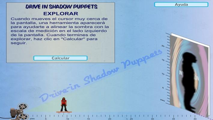 Inverse Proportions and Shadows in Practice (Spanish version)