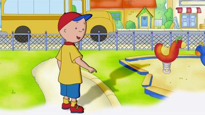 Shadow Scientist | Caillou