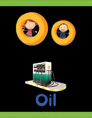Alphabet Worksheets - O for Oil | Clipart