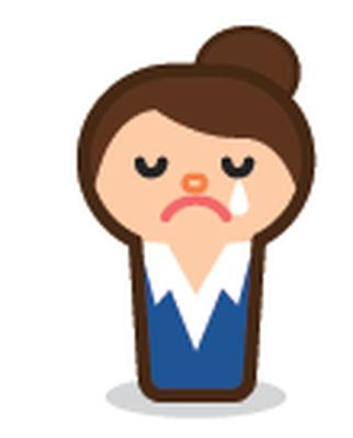 Businesswoman Emoticons   Clipart