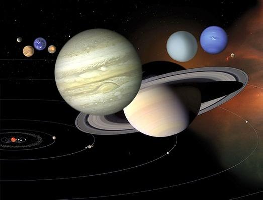 The Structure and Scale of the Solar System