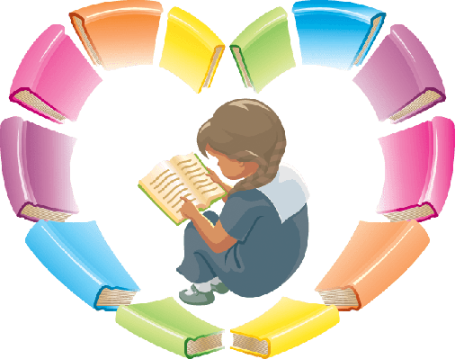 Love Reading Books | Clipart