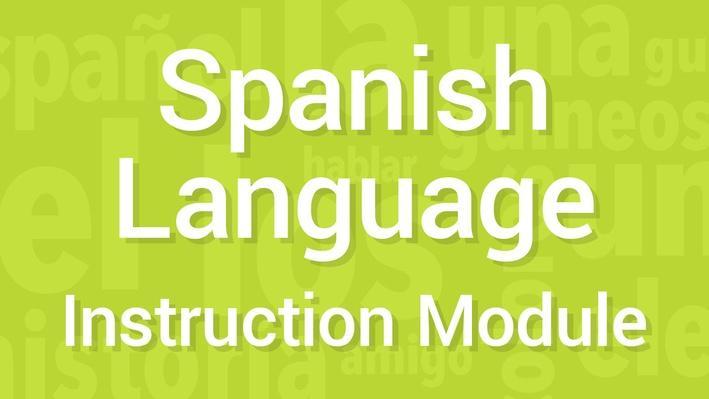 History / Simple Sentences | Module 10 | Supplemental Spanish Grades 3-5