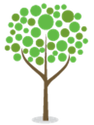 Stylized Trees - 5 | Clipart