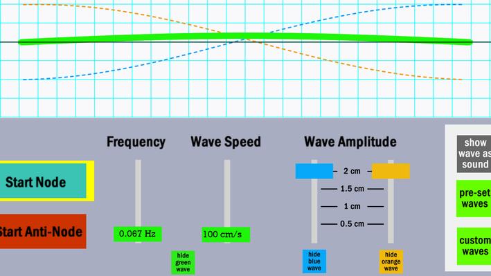 Standing Wave Simulator