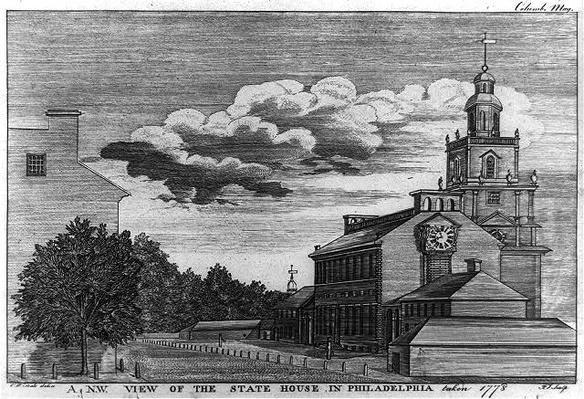 Philadelphia Statehouse, 1778
