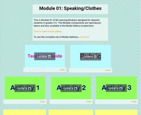 Speaking/Clothes | Supplemental Spanish Module 01