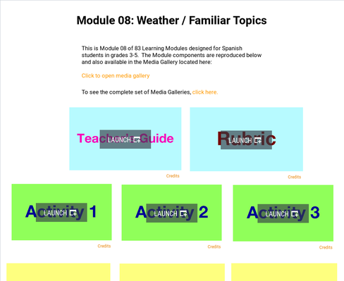 Weather: Familiar Topics | Supplemental Spanish Module 08