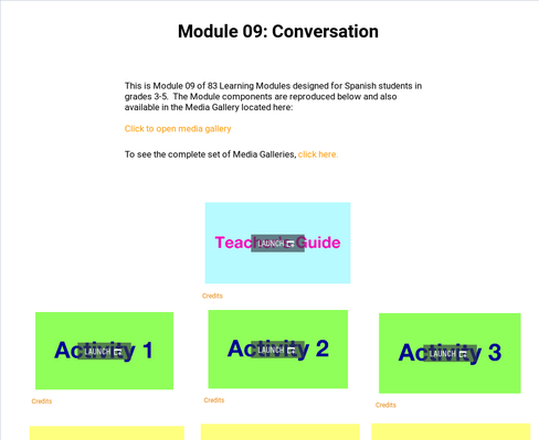 Conversation | Supplemental Spanish Module 09