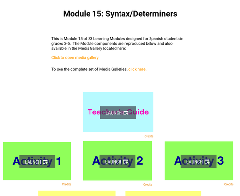 Syntax: Determiners | Supplemental Spanish Module 15