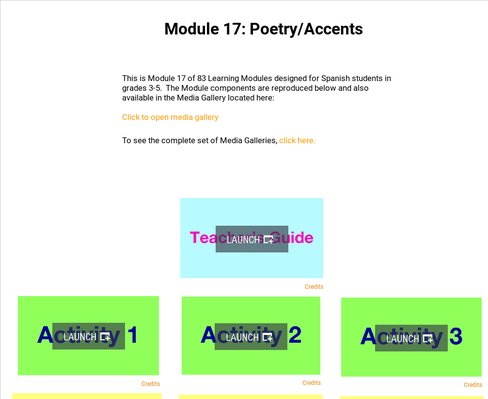 Poetry: Accents | Supplemental Spanish Module 17
