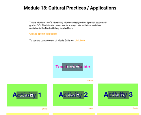Cultural Practices: Applications | Supplemental Spanish Module 18