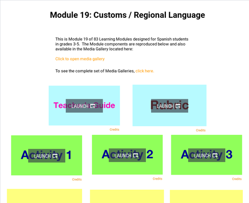 Customs: Regional Language | Supplemental Spanish Module 19