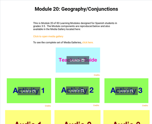 Geography: Conjunctions | Supplemental Spanish Module 20
