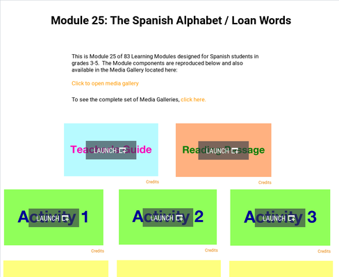 The Spanish Alphabet: Loan Words | Supplemental Spanish Module 25