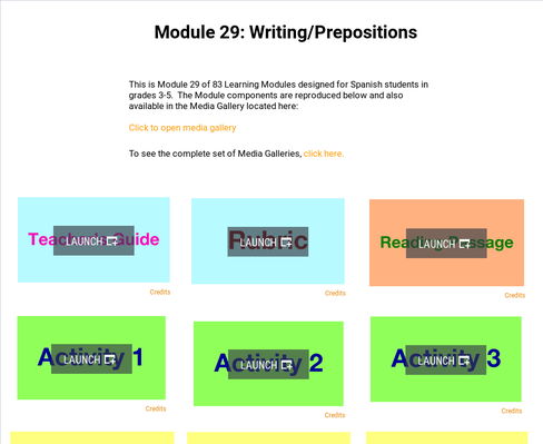 Writing: Prepositions | Supplemental Spanish Module 29