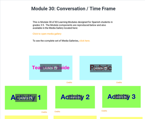Conversation: Time Frame | Supplemental Spanish Module 30
