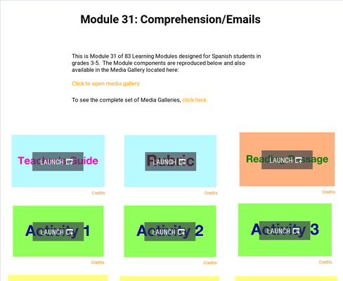 Comprehension: Emails | Supplemental Spanish Module 31