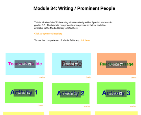 Writing: Prominent People | Supplemental Spanish Module 34