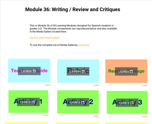 Writing: Reviews and Critiques | Supplemental Spanish Module 36