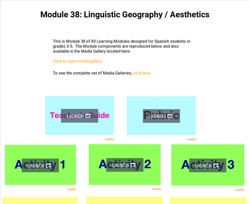 Linguistic Geography: Aesthetics | Supplemental Spanish Module 38