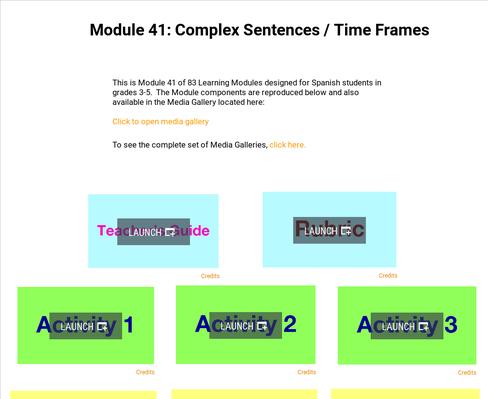 Complex Sentences: Time Frames | Supplemental Spanish Module 41