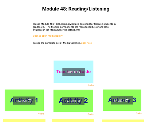 Reading: Listening | Supplemental Spanish Module 48