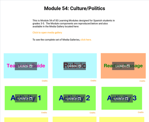 Culture: Politics | Supplemental Spanish Module 54