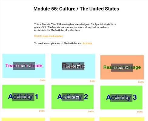 Culture: The United States | Supplemental Spanish Module 55