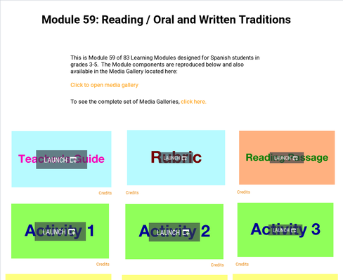 Reading: Oral and Written Traditions | Supplemental Spanish Module 59