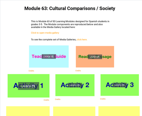Cultural Comparisons: Society | Supplemental Spanish Module 63